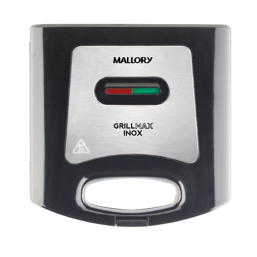 Sanduicheira Mallory Grillmax Inox Preta