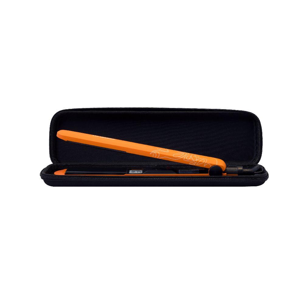 Prancha Mallory Colors Orange Bivolt