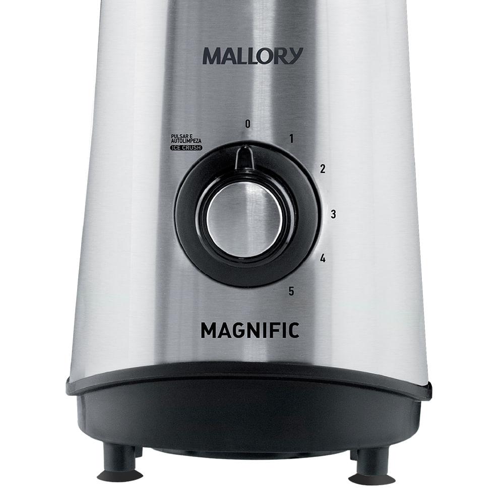 Liquidificador Inox  Mallory  Magnific 800w