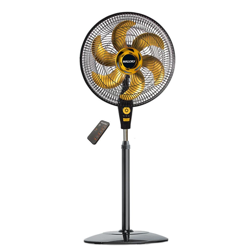 Ventilador Mallory Air Timer TS+ Preto Dourado