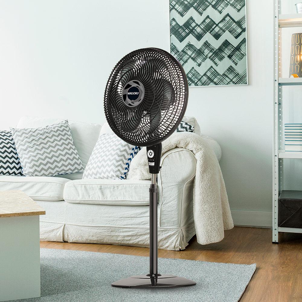 Ventilador-Air-Timer-TS-Preto