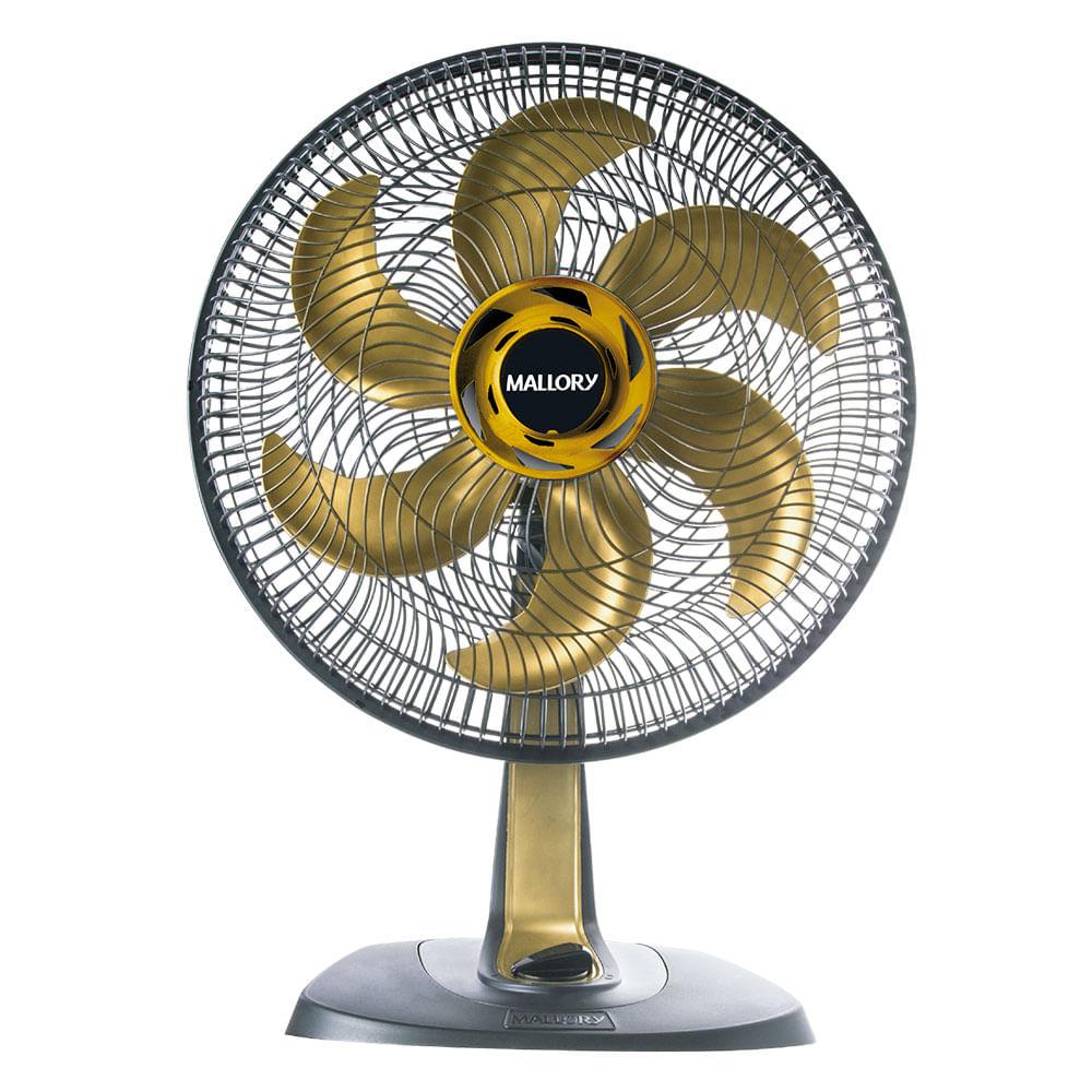 Ventilador Mallory TS40+ Preto Dourado