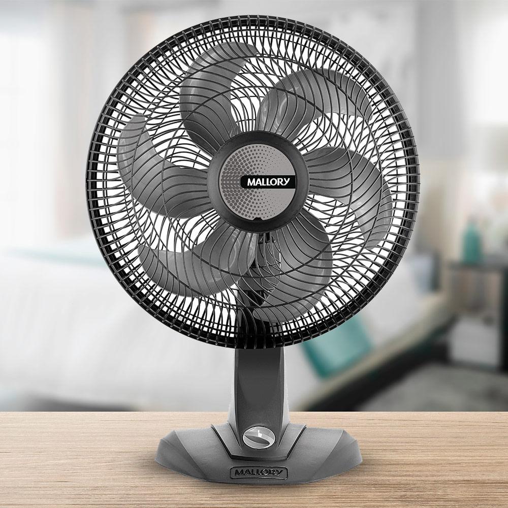 Ventilador Mallory TS30 Preto