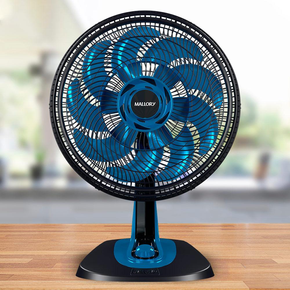Ventilador Mallory Neo Air 15 Azul