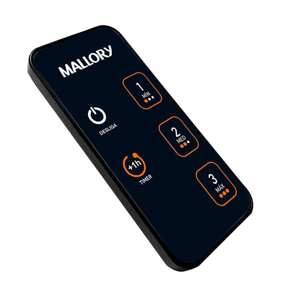 Ventilador Mallory Neo Air 15 Air Timer Preto Dourado